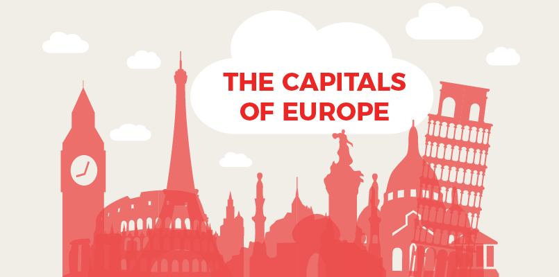 CAPITAL CITIES OF THESE EUROPEAN COUNTRIES