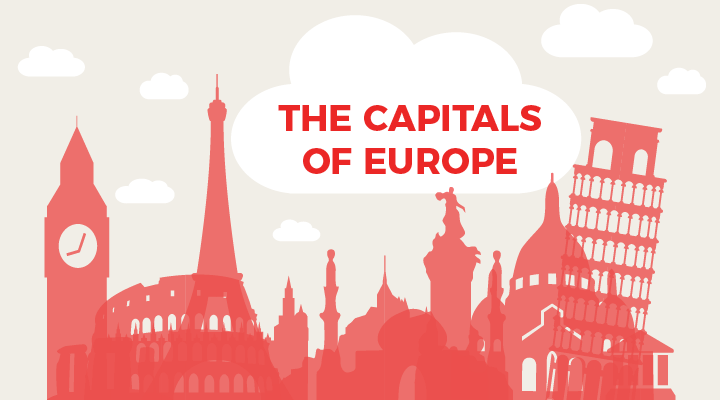 [QUIZ] GUESS THE CAPITAL CITIES OF THESE EUROPEAN COUNTRIES