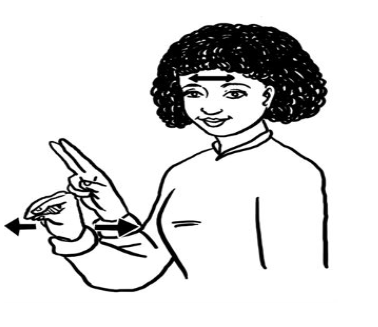 BABY SIGN LANGUAGE FOR NO